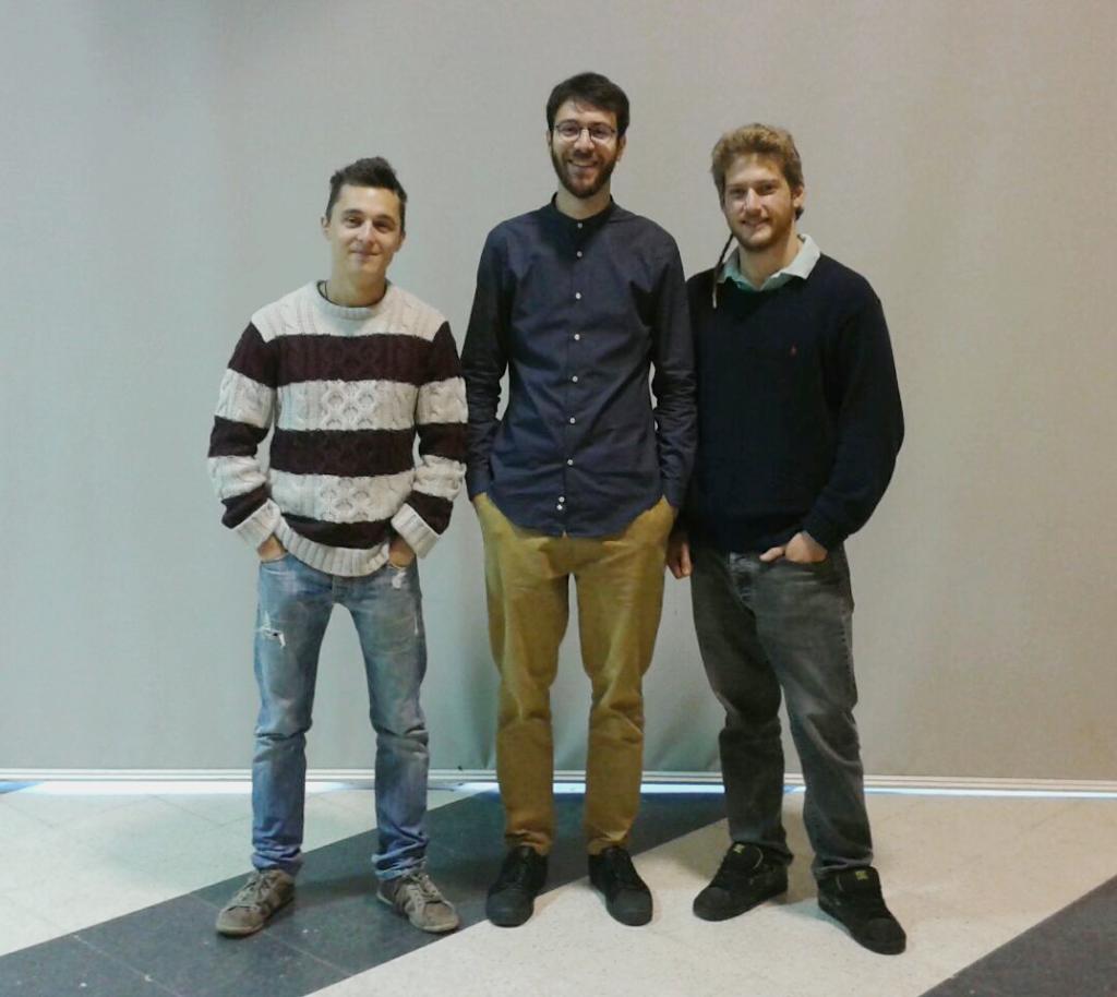 Manuel La Licata, Federico Fred Fumagalli, Gabriele Avogadro.