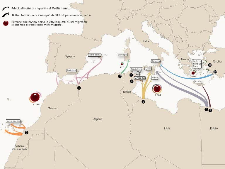 Combo_think_together_mappa_migranti
